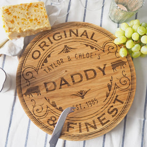 Personalised Camembert Cheese Board