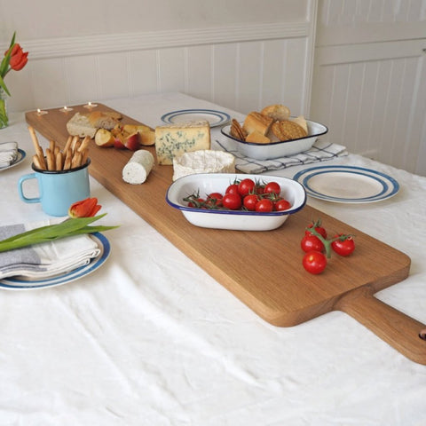 Large Oak Sharing Platter Board 4 ft