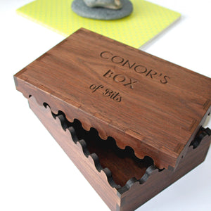 Solid Wood Keepsake Box