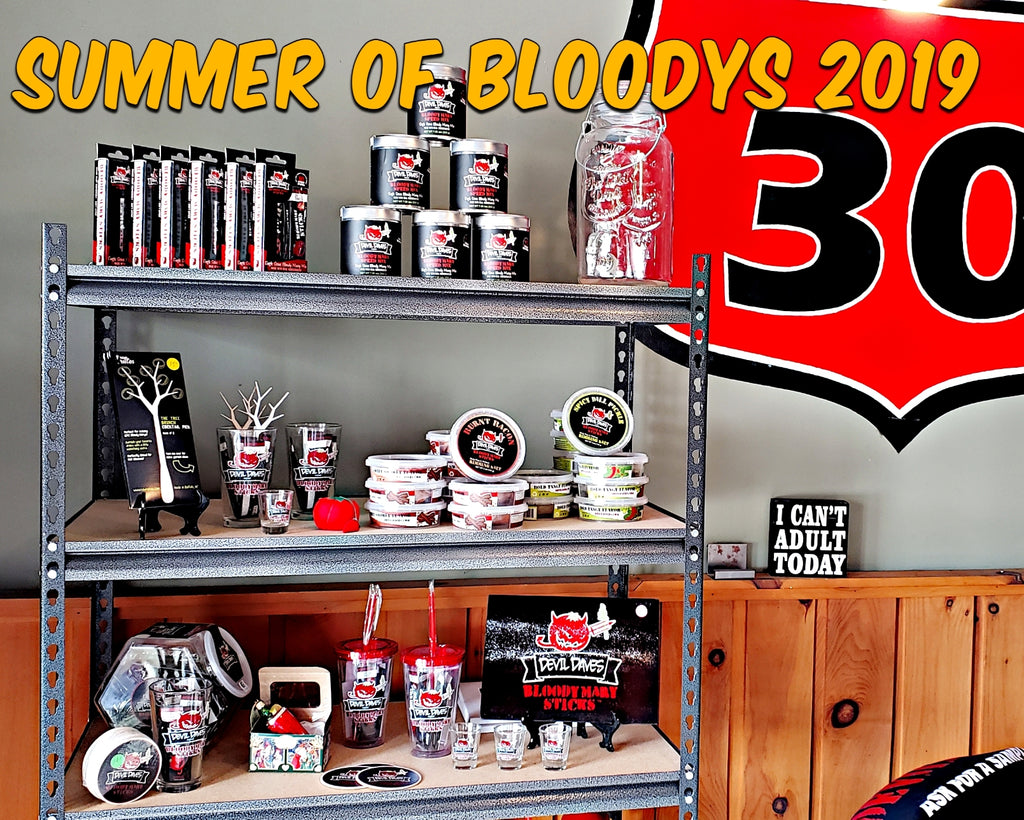 Bloody Mary contest giveaway merchandise freebie devil daves
