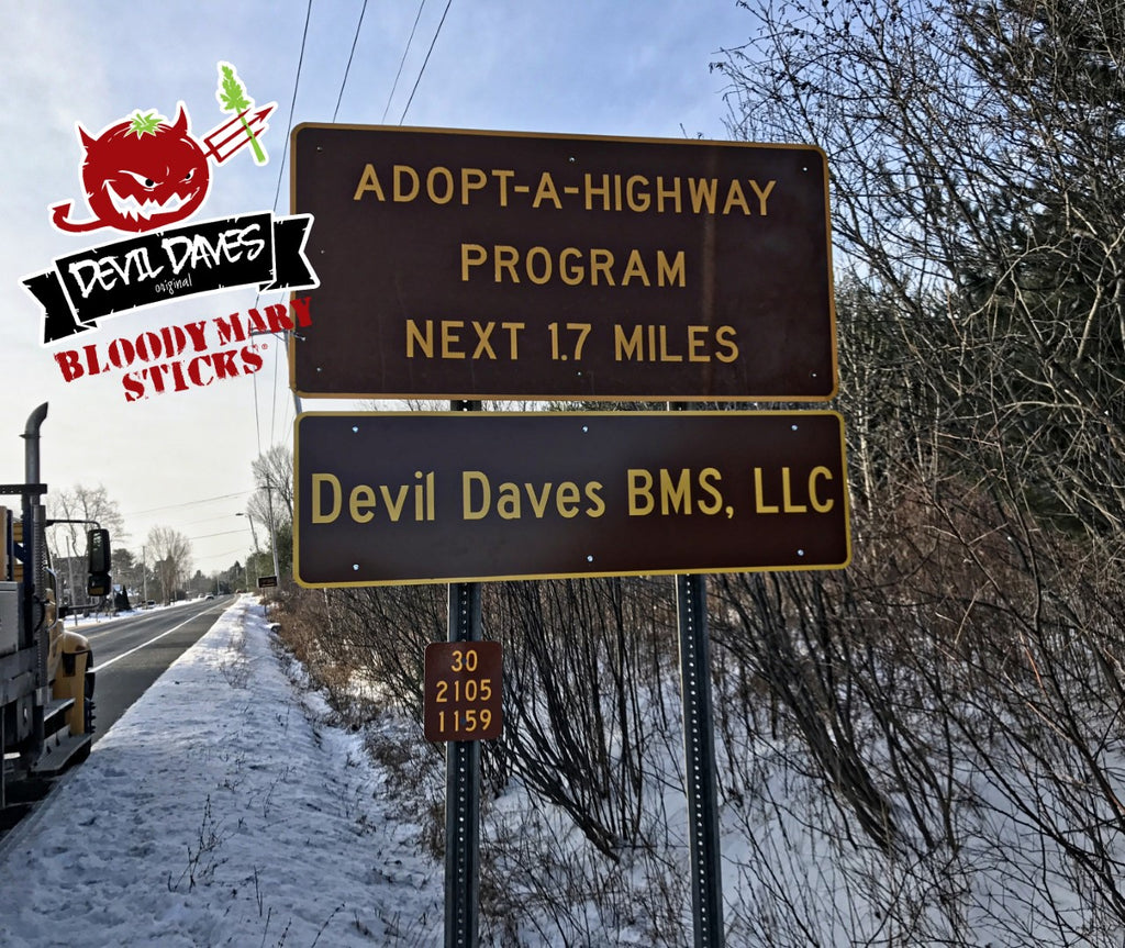 Devil Daves Adopt a highway Mayfield NY