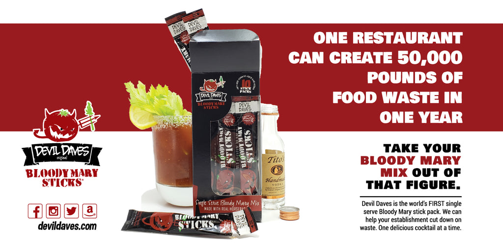 how to reduce spoilage in my restaurant bar bloody mary mix waste
