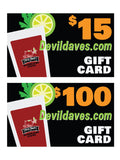 Bloody Mary gift certificate GC cards