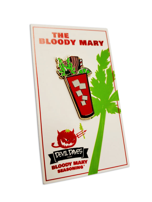 Bloody Mary pin