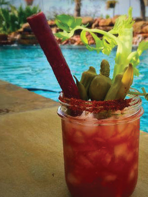 beef straw bloody mary
