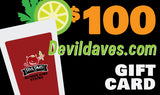 Devil Daves Gift Cards | Digital Certificate