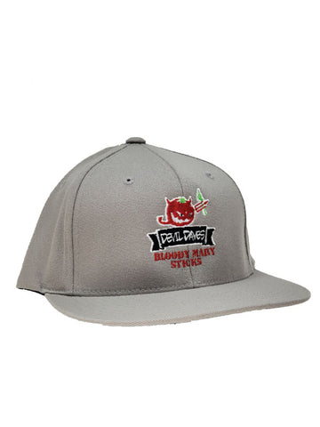 Snap Back Stitched Hat - High Quality