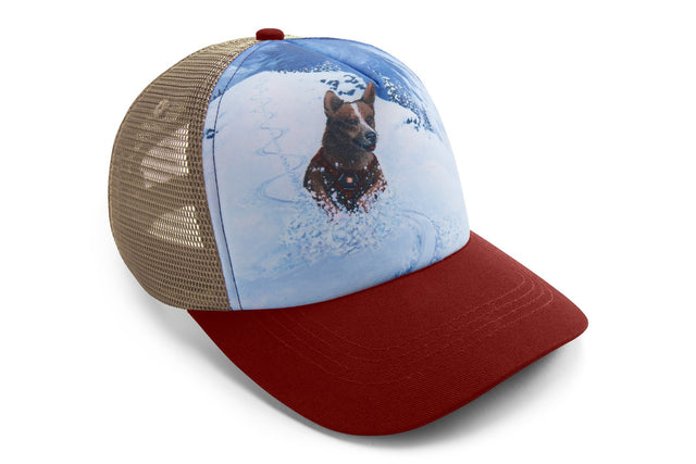 Artist Series Trucker Hat - Mount Bailey by Adam Haynes