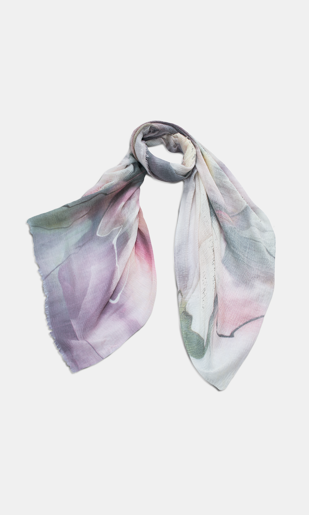 Cheese Cloth Pastel Scarf