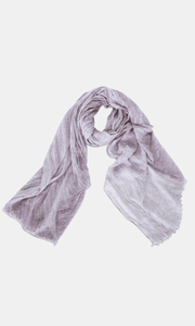 Plain Berry Crinkle Scarf