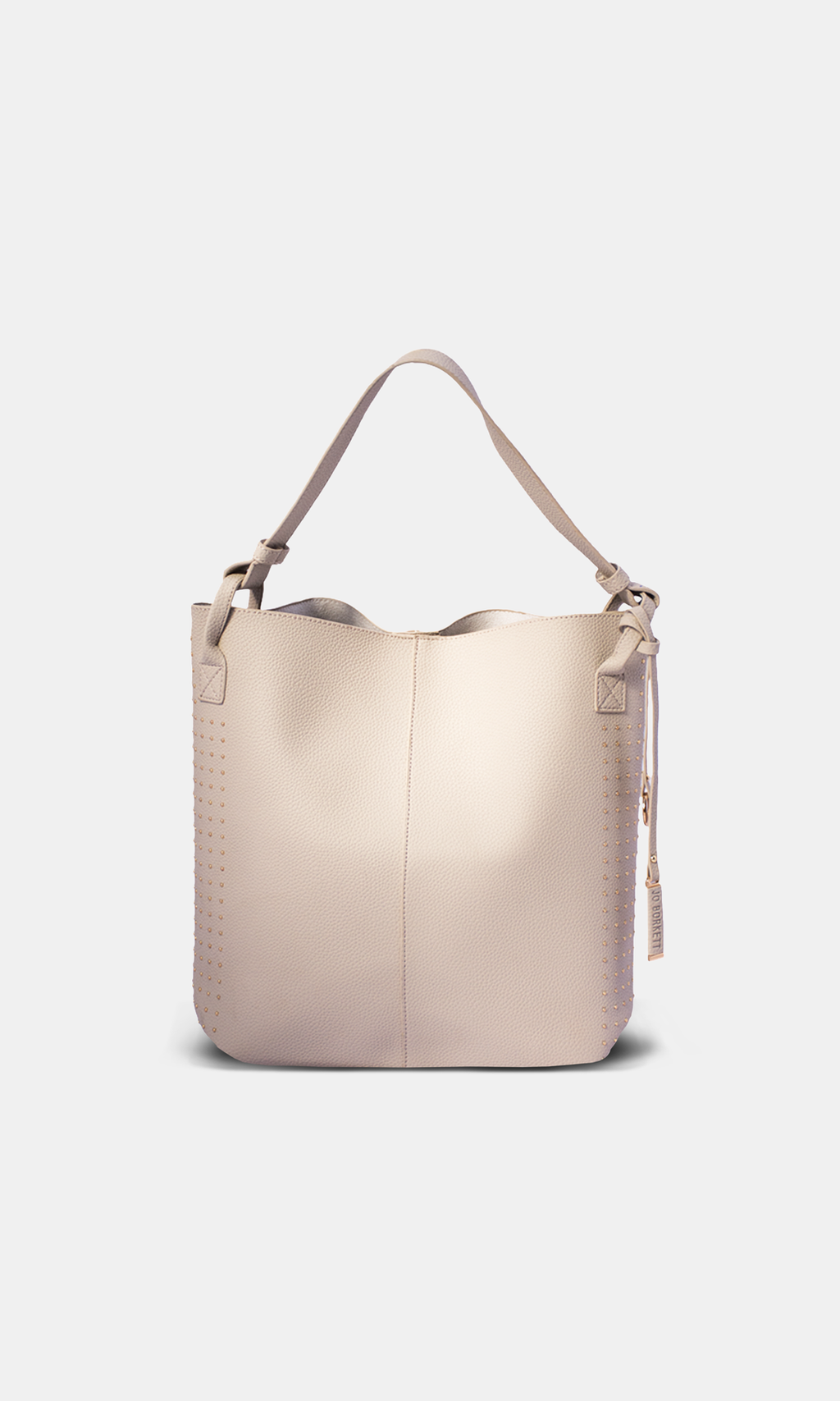Shopper Studded Nude