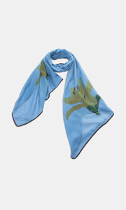 Viscose & Cotton  Lily Scarf