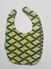 1 x Symmetry/Zigzags Reversible Buba Bib