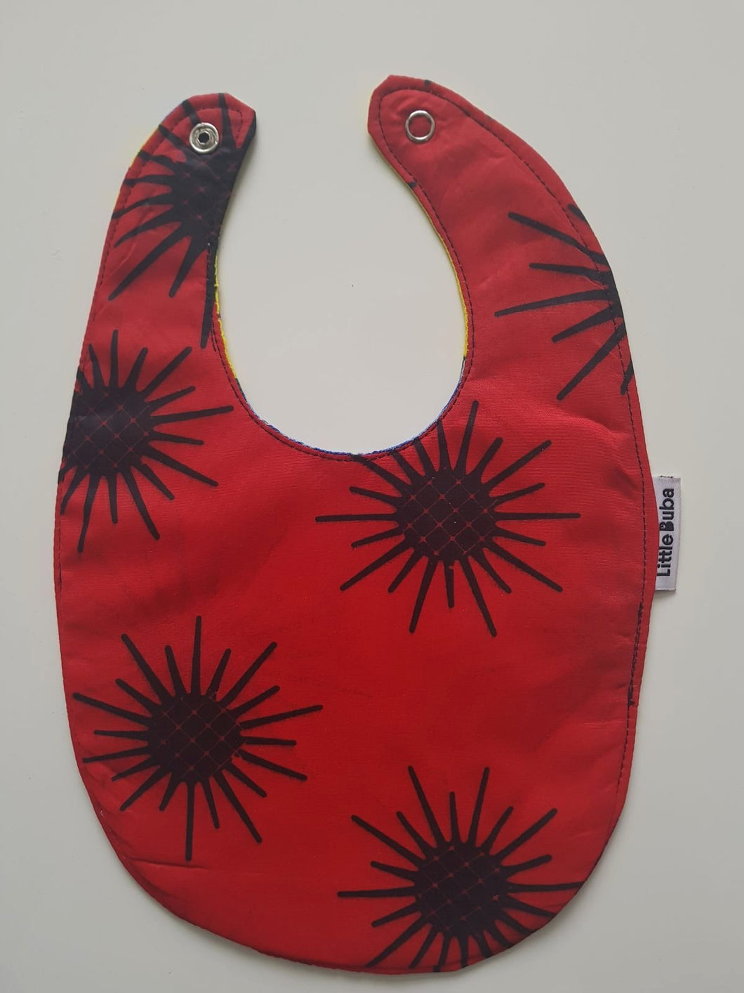 1 x Spider Print/Tattooed Reversible Buba Bib