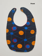 1 x Blue Planet/Orbit Ring Reversible Buba Bib