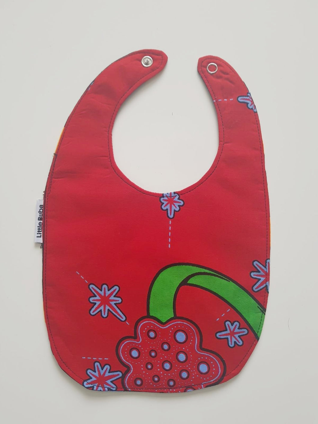 1 x Orbit Ring/Blue Planet Reversible Buba Bib