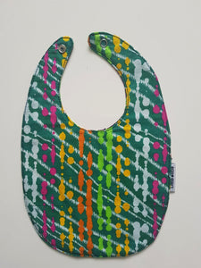 1 x Happy Splash/Hypnotic Reversible Buba Bib