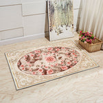 Europe Style Plant Flowers Carpet Area Rug For Bedroom Livingroom Carpet Kitchen Baths Mat Door Mat Anti-Slip Home Decoration