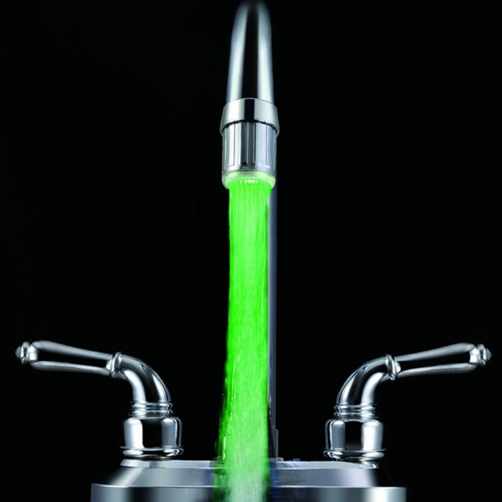 Water Faucet LED Light  3 Color Changing