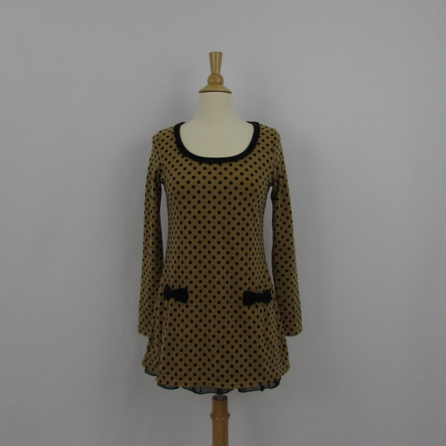 Cecil McBee Polka Dot Mini Dress