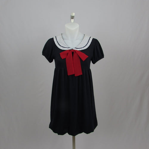 Ank Rouge Sailor Girl Mini Dress - Cherry Cordial
