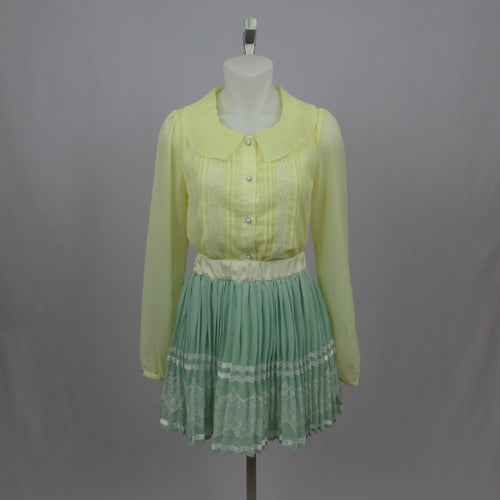 Honey Bunch Mint Skirt