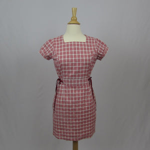 Ank Rouge Red Gingham Dress - Cherry Cordial