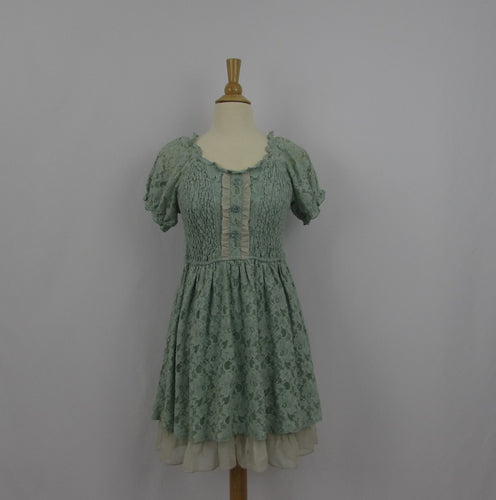 Axes Femme Teal Lace Dress
