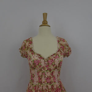 Liz Lisa Pink Floral Lace Dress