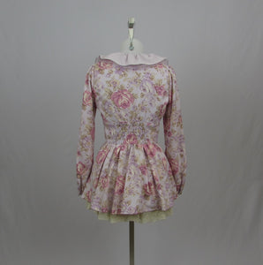 Liz Lisa Lavender Floral Tunic Top - Cherry Cordial