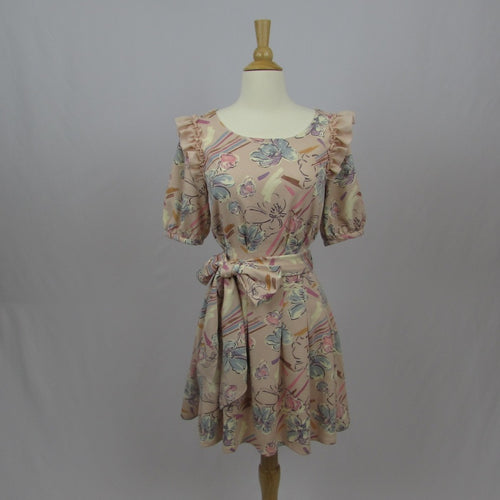 Liz Lisa 90's Style Pastel Floral Dress - Cherry Cordial