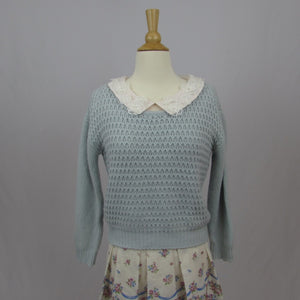 Lodispotto Blue Sweater - Cherry Cordial
