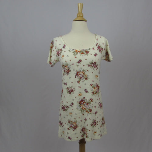 Liz Lisa Floral Mini Sweater Dress - Cherry Cordial