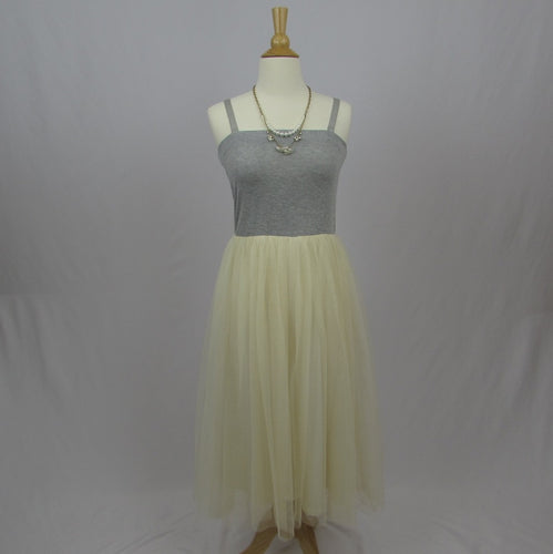 Tralala Knit & Tulle Dress NWT