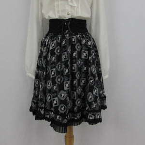 Axes Femme Alice in Wonderland Skirt