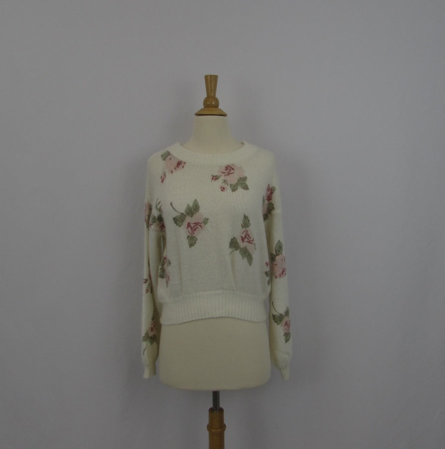 Liz Lisa Cozy Floral Sweater