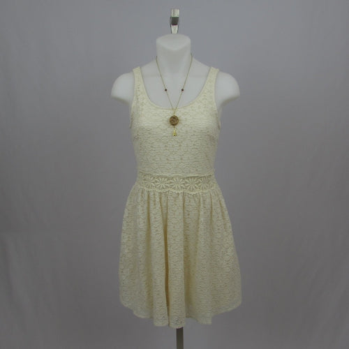 Ingni Cream Lace Sundress