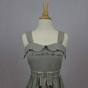 "Penderie ""I could be the one"" Dress - Cherry Cordial"