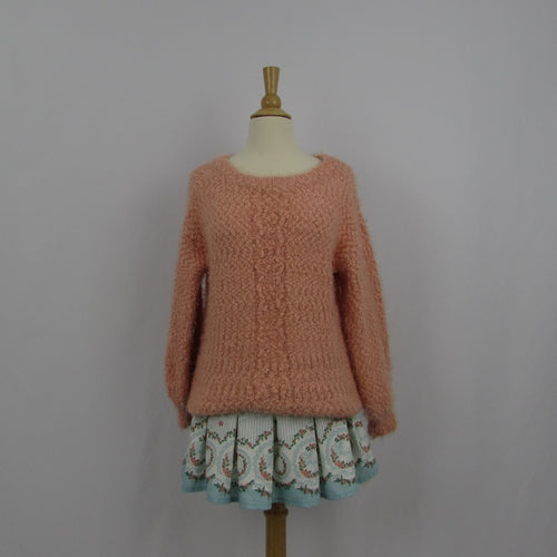 Liz Lisa Oversized Coral Sweater