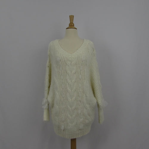 Liz Lisa White Ribbon Sweater