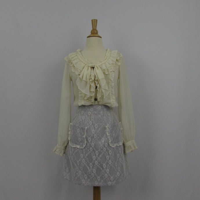 Ank Rouge Lace Aline skirt