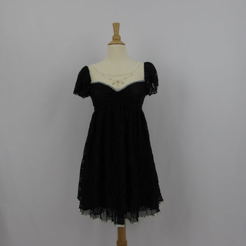 Axes Femme Lace Baby Doll Dress