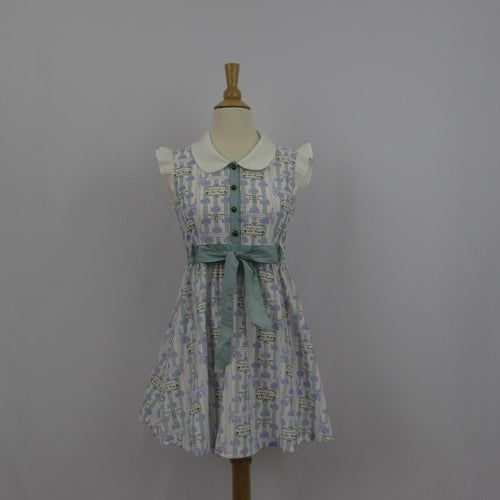 Ank Rouge Lavender Floral Dress