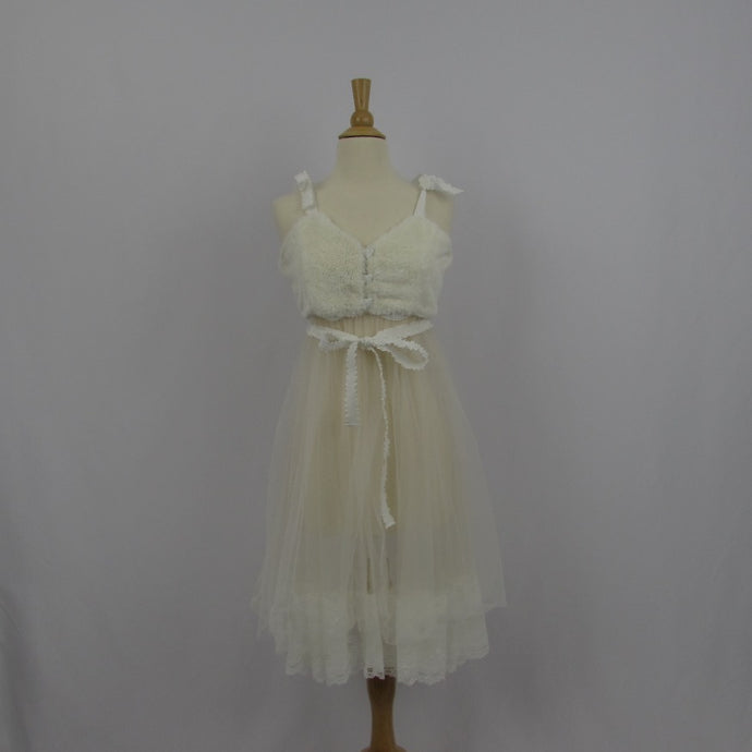 Mon Lily Cream Over Dress