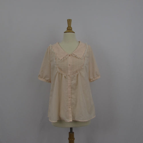 A.R.W Peach Swing Blouse (L)