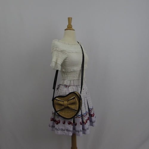 Angelic Pretty Heart Shaped Bag