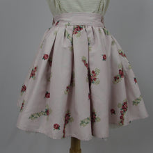 Ank Rouge Pink Crosses & Roses Skirt - Cherry Cordial