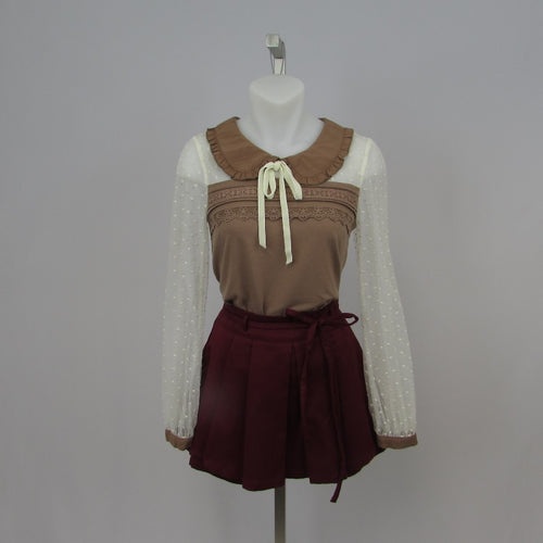 Liz Lisa Brown Top