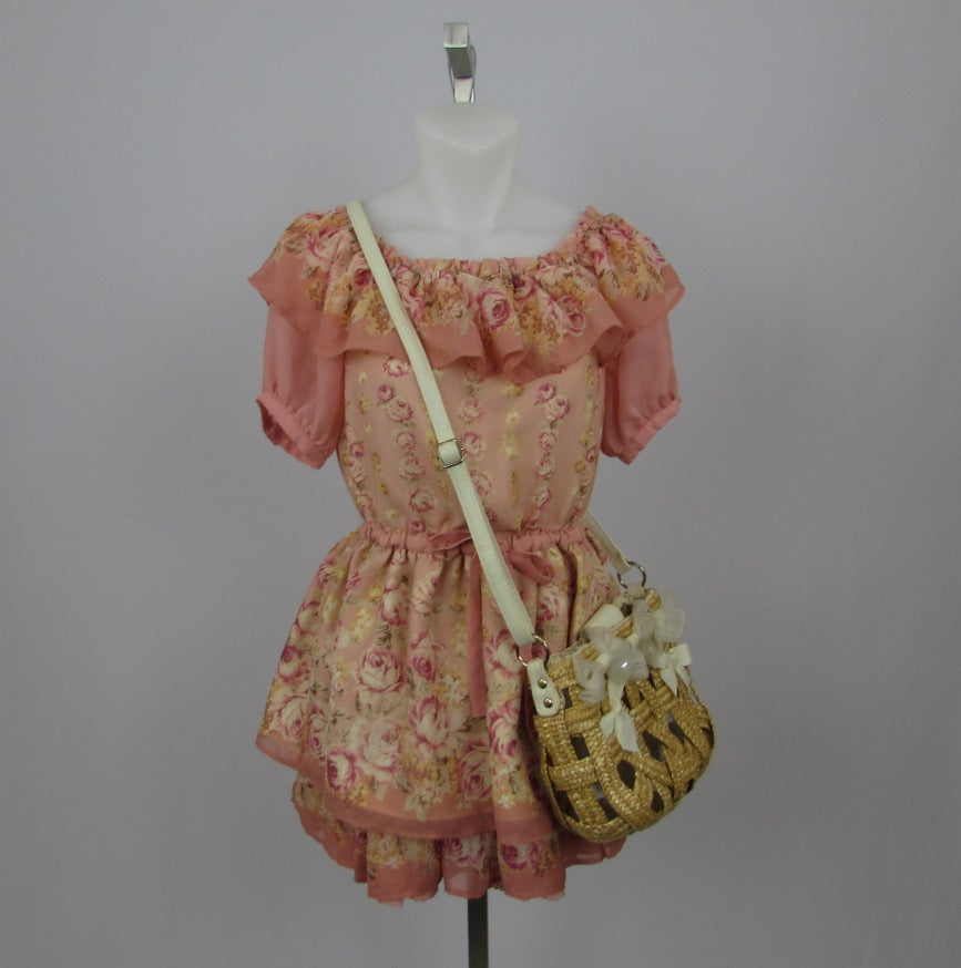 Liz Lisa Woven Basket Bag