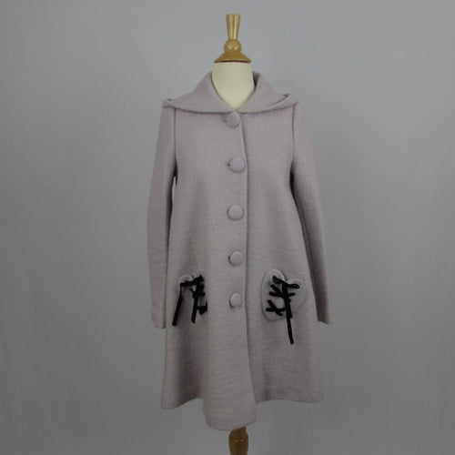 Ank Rouge Lavender Winter Coat - Cherry Cordial